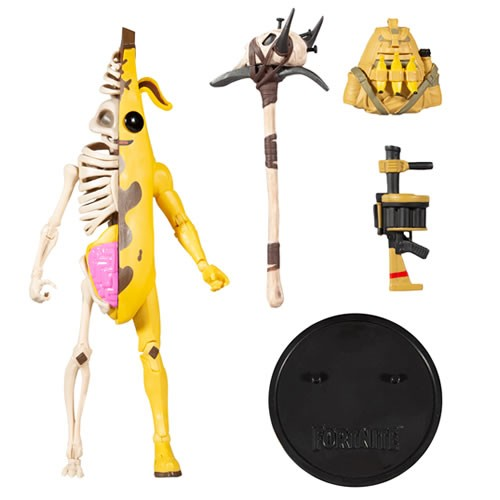 Fortnite Peely Bone 7 Inch Scale Action Figure.