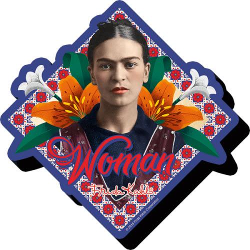 Frida Kahlo Funky Chunky Magnet