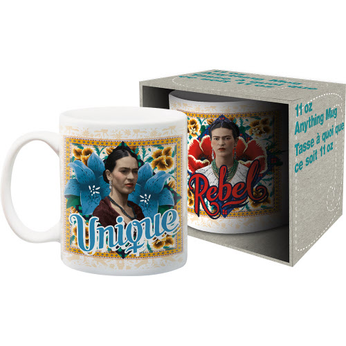 Frida Kahlo 11 Ounce Boxed Mug.