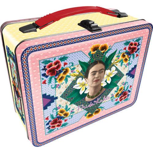 Frida Kahlo Gen 2 Fun Box Tin Tote Lunchbox.