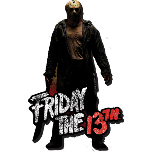 Friday the 13th Jason Funky Chunky Magnet