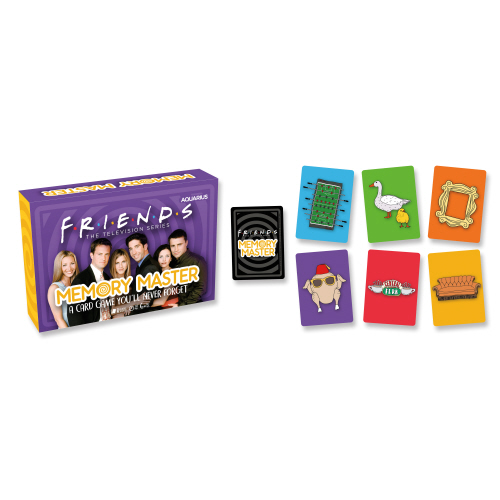 Friends Memory Master Card Game.
