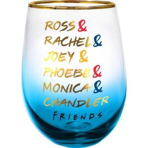 Friends Stemless Wine Glass