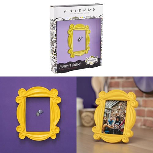 Friends Peephole Photo Frame. Perfect for your favourite pictures of you and your friends, the Peephole Picture Frame also makes a great gift for lovers of this popular TV show.
