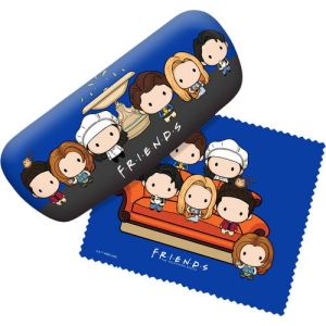 Friends Eyeglass Case with cleaning Cloth