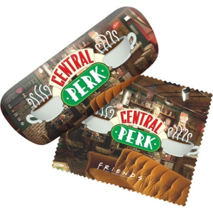 Central Perk Eyeglass Case with Cleaning Cloth