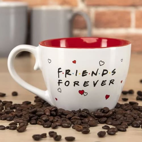 Friends Forever Mug. This mug is an excellent gift for lovers of Friends and works nicely as a stocking filler at Christmas or a birthday present.