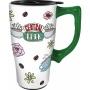 Central Perk Travel Mug with Handle.