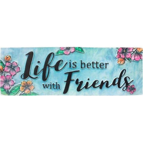 Friends Desk Sign.