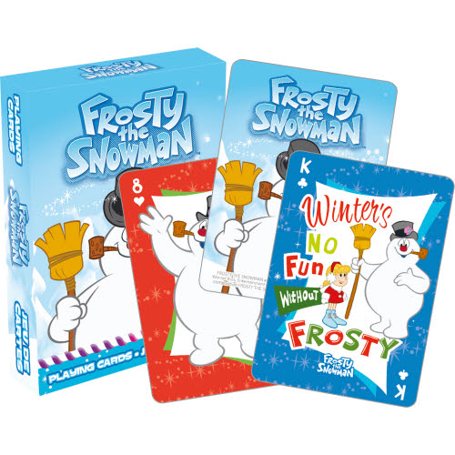 Frosty The Snowman 2 Playing Cards.