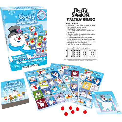 Frosty Family Bingo.