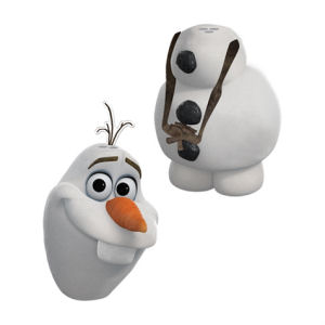 Frozen Olaf Sculpted Salt and Pepper Set