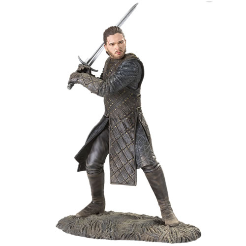 Game Of Thrones Jon Snow Battle Of The Bastards Figure. Measures 8 inches tall.