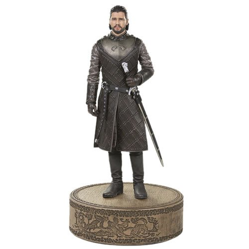Game Of Thrones Jon Snow Statue. Launching the new line of highly detailed, premium Game of Thrones figures is none other than Jon Snow himself.