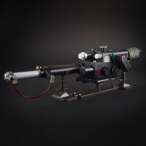 Ghostbusters Neutrona Wand. LEDs, authentic sound effects, and motorized vibrations allow fans and collectors to imagine they're wrangling all sorts of spooky spirits and gruesome ghouls.