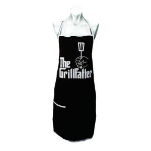 The Godfather Grillfather Cooks Apron with Pocket