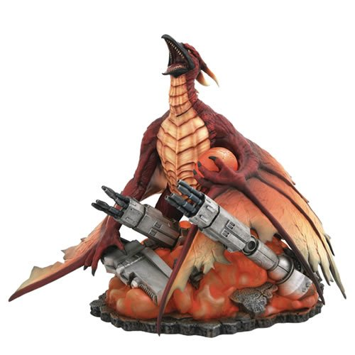 Godzilla PVC Gallery Rodan (1993) Statue. Sculpted in a pose from the iconic movie poster, Rodan measures approximately 8 Inches tall and is cast in high-quality PVC with detailed sculpting and paint applications.