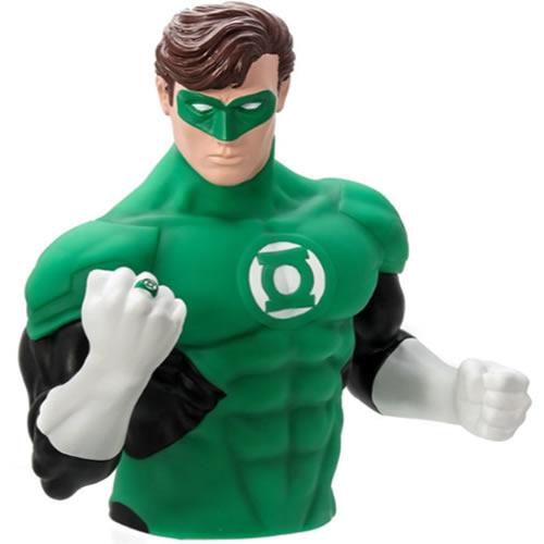 DC Comics Green Lantern Bust Bank.