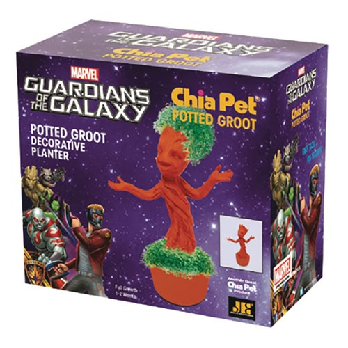 Marvel Studios Guardians Of The Galaxy 2  Potted Groot Chia Pet.