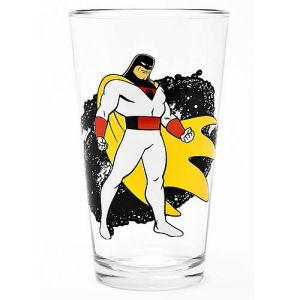 Hanna Barbera Space Ghost Pint Glass Toon Tumbler