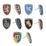 Harry Potter Crests Earring Set 5 Pack. Wear a different Hogwarts house symbol every day of the week.