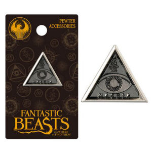 Fantastic Beasts and Where to Find Them MACUSA Triangle Eye Pewter Lapel Pin