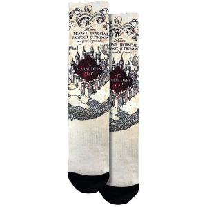 Harry Potter Marauder Map Socks