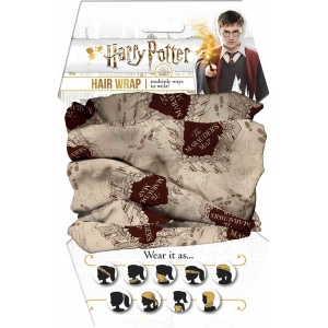 Harry Potter Marauders Map Hair and Face Wrap