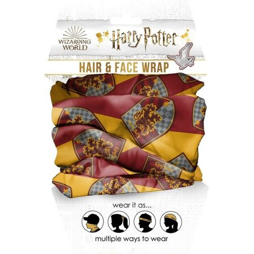 Harry Potter Gryffindor Hair and Face Wrap.