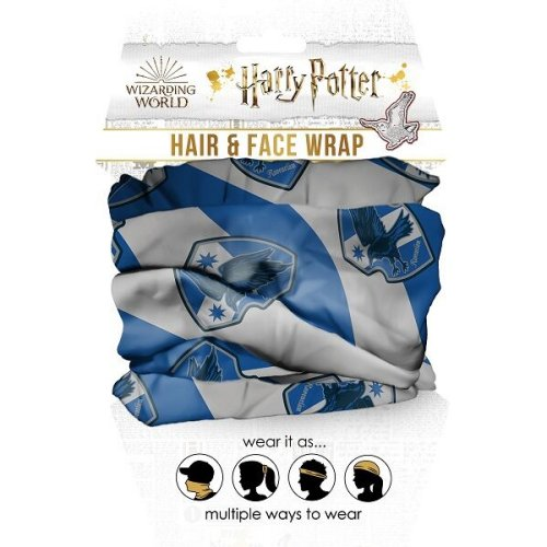 Harry Potter Ravenclaw Hair and Face Wrap.
