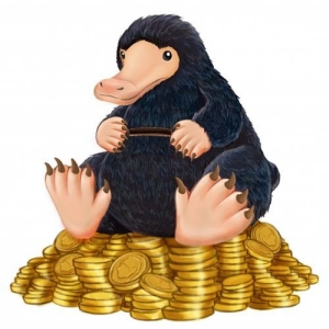 Fantastic Beasts and Where to Find Them Figural Niffler PVC Bank