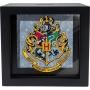 Harry Potter Hogwarts Crest Shadow Box Bank.