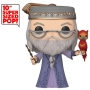 Harry Potter Dumbledore and Fawkes 10 Inch Pop! Vinyl Figure.