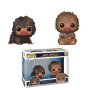 Fantastic Beasts 2 Baby Niffler Brown and Tan Pop! Vinyl Figure 2-Pack.