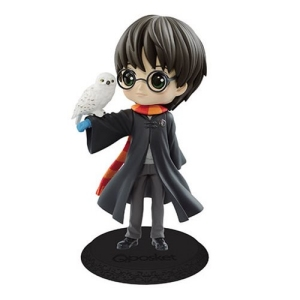 Harry Potter with Hedwig Light Color Version Q Posket Statue