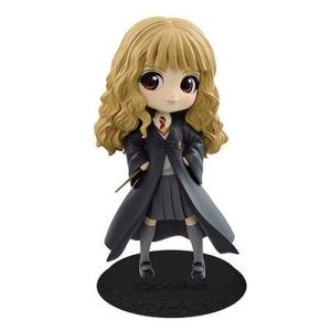 Harry Potter Hermione Granger with Wand Light Color Version Q posket Statue