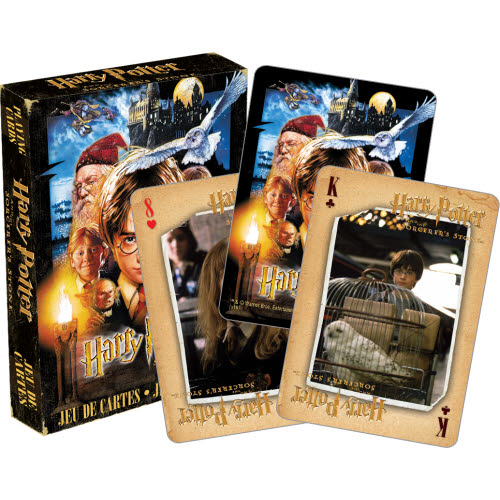 Harry Potter Sorcerers Stone Playing Cards.
