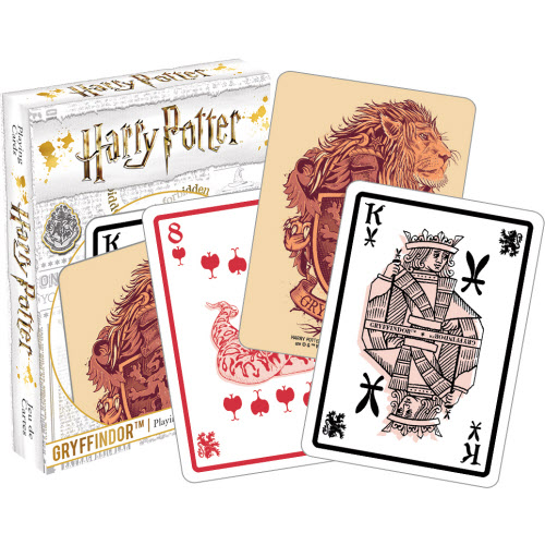 Harry Potter Gryffindor Playing Cards.
