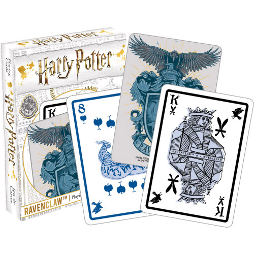 Harry Potter Ravenclaw Playing Cards.