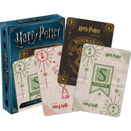 Harry Potter Artifacts Playing Cards.