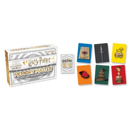 Harry Potter Memory Master Card Game.
