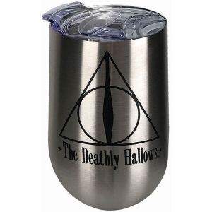 Harry Potter Deathly Hallows Stainless Steel Wine Tumbler
