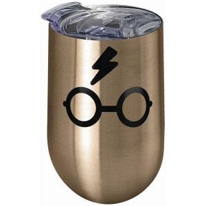 Harry Potter Glasses Stainless Steel Wine Tumbler