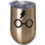 Harry Potter Glasses Stainless Steel Wine Tumbler.
