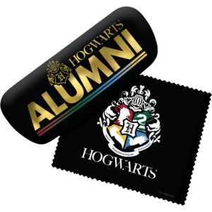 Harry Potter Hogwarts Alumni Eyeglass Case with Cleaning Cloth