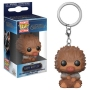 Fantastic Beasts The Crimes Of Grindelwald  Baby Niffler (Tan Multi) Pocket Pop! Keychain.