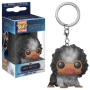 Fantastic Beasts The Crimes Of Grindelwald Baby Niffler (Brown Multi) Pocket Pop! Keychain.