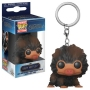 Fantastic Beasts The Crimes Of Grindelwald Baby Niffler (Brown) Pocket Pop! Keychain.