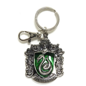Harry Potter Pewter Slytherin Logo Key Chain