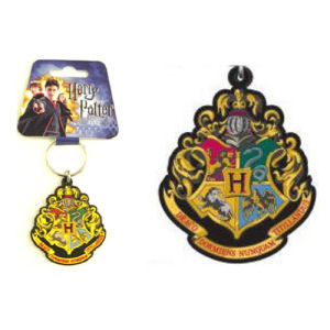 Harry Potter Hogwarts School Crest Key Chain
